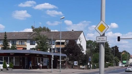 Schild Misburg